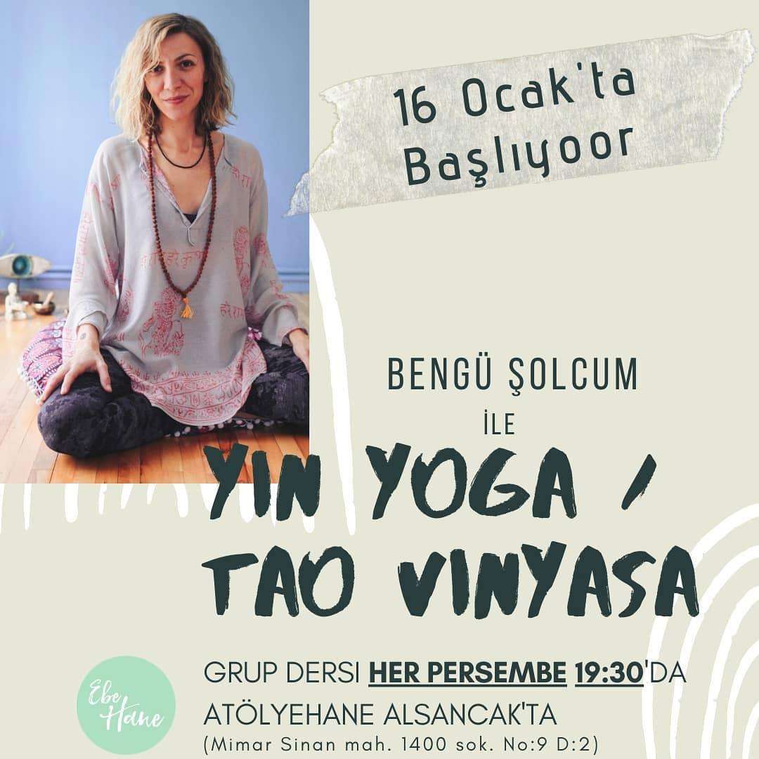 Bengü Şolcum ile Yin Yoga - Tao Vinyasa