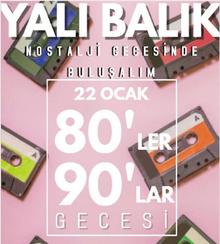 80'ler 90'lar Gecesi