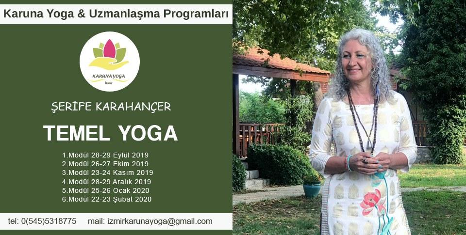 Şerife Karahançer ile Temel Yoga Uzmanlaşma Programı