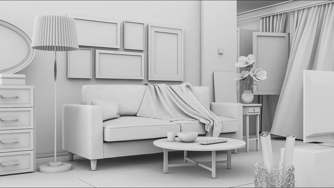 Mobilya Modelleme ve Stüdyo Görselleştirmesi